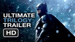 The Dark Knight Rises Ultimate Trilogy Trailer   Christopher Nolan Batman Movie Legacy HD