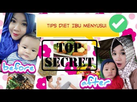 Cara Cepat Diet Ibu Menyusui
