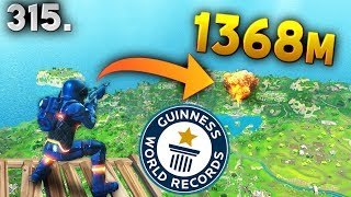 WORLD RECORD 1368m KILL..!! Fortnite Daily Best Moments Ep.315 Fortnite Battle Royale Funny Moments