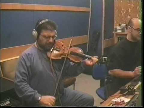 NIKOS XATZOPOULOS, violin on studio