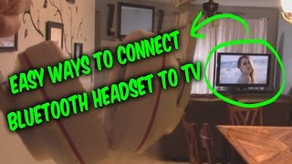 getlinkyoutube.com-2 ways to connect wireless headsets / speakers to any TV