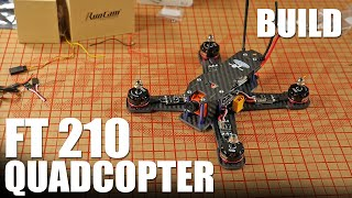 getlinkyoutube.com-FT 210 Quadcopter - BUILD