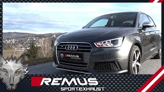 getlinkyoutube.com-Audi S1 Type 8X with REMUS cat-back system