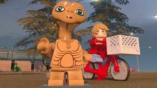 getlinkyoutube.com-LEGO Dimensions - E.T. Free Roam (E.T. Adventure World)