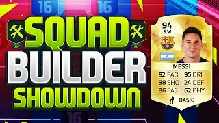 getlinkyoutube.com-FIFA 16 SQUAD BUILDER SHOWDOWN!!! LIONEL MESSI!!! The Highest Rated Player On Fifa 16