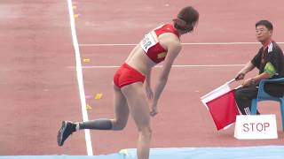 getlinkyoutube.com-Li Ling, a Chinese beautiful pole vaultor