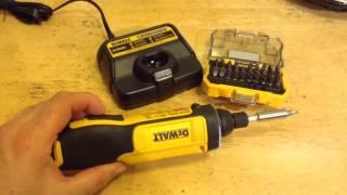 getlinkyoutube.com-Dewalt gyro screwdriver  DCF682