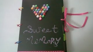 getlinkyoutube.com-DIY : #14 Sweet Memory Photo Album  ♥