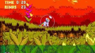 getlinkyoutube.com-Sonic The Hedgehog 3 & Rainbow Dash (Sega Genesis Hack) Gameplay Part 1 (Angel Island Zone)