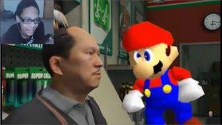 "getlinkyoutube.com-Grand Theft Mario - ""If Mario Was In... GTA V"" REACTION   SPAGHETTI"