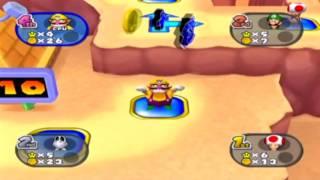 "getlinkyoutube.com-Multirandomness - Lux vs Ray vs Gio - Mario Party 7 ""Pyramid Park"""
