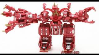 getlinkyoutube.com-Bakugan Maxus Drago (Dragonoid) 7in1 Battle Monster Toy