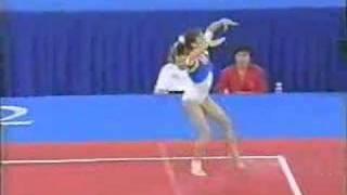 getlinkyoutube.com-Lavinia Milosovici '92 Olympics Floor Exercise Event finals