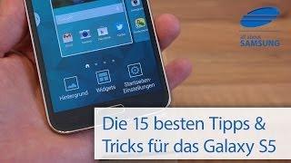 getlinkyoutube.com-Samsung Galaxy S5: Die 15 besten Tipps und Tricks deutsch HD