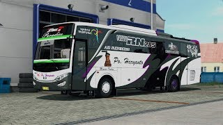 ETS2 Indonesia -  Long trip with Haryanto