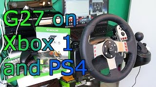 getlinkyoutube.com-Logitech G27 on PS4 and Xbox ONE - How to and Forza 5 Gameplay - Titan ONE [HD]