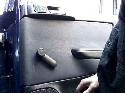 Как снять обшивку карту задней двери OPEL ASTRA G (2007)demontaz boczka drzwi tyl/door panel removal