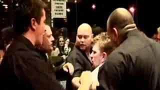 getlinkyoutube.com-Drunk Deaf Guy Attacks Bouncers and Rams Everyone