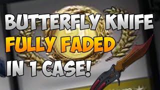 getlinkyoutube.com-CS:GO: BUTTERFLY FULL FADE UNBOX! (ONLY 1 CASE!)