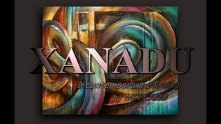 getlinkyoutube.com-Abstract Art painting 'XANADU' Modern, contemporary, Mix Lang How to DEMO