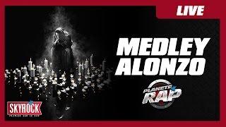 Medley d'Alonzo Avenue St Antoine en live dans Planète Rap