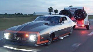 Drag Week 2015 - Day 2 Road Trip AND Racing Highlights!