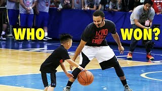 getlinkyoutube.com-Stephen Curry vs. 7-year old boy (2015 Manila Under Armour tour)