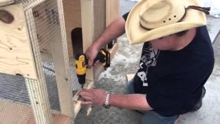 getlinkyoutube.com-Building a rabbit hutch for less than $50.00 (follow up)