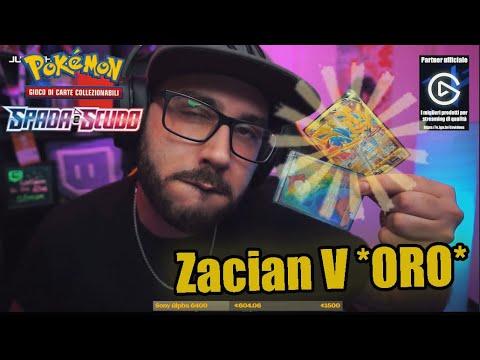 TROVO Zacian V *GOLD*- POKEMON SPADA E SCUDO