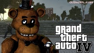 FIVE NIGHTS AT FREDDY NO GTA IV