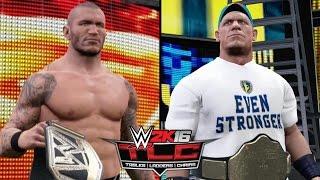 getlinkyoutube.com-WWE 2K16 Simulations - Randy Orton vs. John Cena (TLC WWE World Heavyweight Title Match) [TLC 2013]