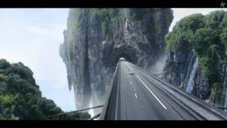 Matte painting-Highway to heaven