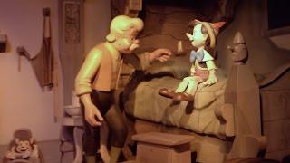 getlinkyoutube.com-Pinocchio's Daring Journey Ride 2015, Disneyland Park, Disneyland Resort