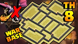 getlinkyoutube.com-CLASH OF CLANS - INCRÍVEL LAYOUT CV8 DE GUERRA [ANTI DRAGON] BEST TH8 WAR BASE [ANTI 3 STARS]