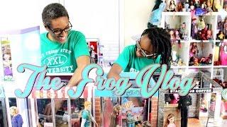 getlinkyoutube.com-DIY - The Frog Vlog:  We Make a Doll Town - Handmade - Doll - Crafts