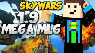 getlinkyoutube.com-1.9 MEGA GLIDER MLG! - Minecraft: Skywars