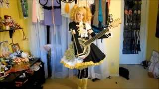 getlinkyoutube.com-Vocaloid Cosplay: Meltdown Kagamine Rin 炉心融解 鏡音リン 【Frilly Carnival】