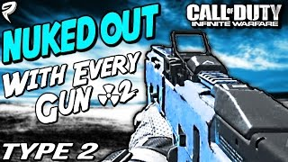 """""""NUKED OUT w/TYPE-2!?"""" - De-Atomizer Strike with Every Nuke Variant on FFA #2 - Infinite Warfare"""