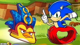 getlinkyoutube.com-Angry Birds Epic - Upcoming Event Sonic Dash Crossover! iOS/ANDROID
