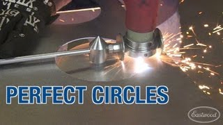 getlinkyoutube.com-Plasma Cutting Guide - How To Cut Perfect Circles, Shapes, Lines Easily - From Eastwood