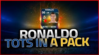 FIFA 15 | TOTS RONALDO IN A PACK | CACHO01