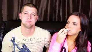 getlinkyoutube.com-CHUBBY BUNNY CHALLENGE... FAIL- With Casey Holmes