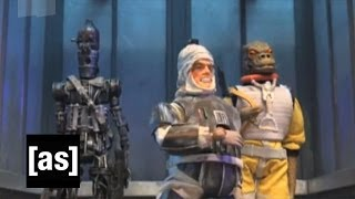 Dengar on the Elevator | Robot Chicken | Adult Swim