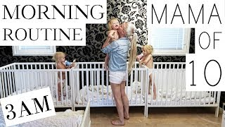 TEEN MOM MORNING ROUTINE: LIFE WITH A BABY width=