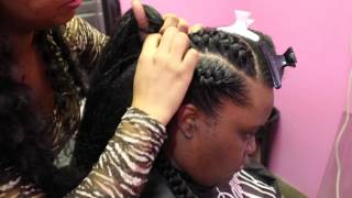 getlinkyoutube.com-Watch Me SLAY These UNDERBRAIDS! (Start To Finish)