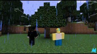 getlinkyoutube.com-Minecraft Meets Roblox