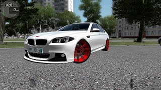 City Car Driving 1.5.1 BMW M5 F10 VOSSEN [G27]