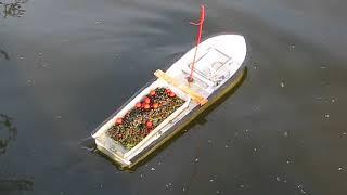 Home Made Bait Boat Mk3.1