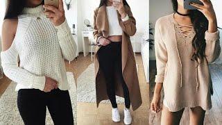 getlinkyoutube.com-TENDENCIAS ENERO/FEBRERO-moda y tendencias invierno 2017-outfits casuales 2017, ropa y complementos