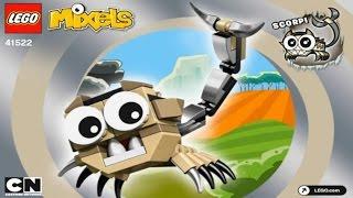 getlinkyoutube.com-LEGO MIXELS 41522 SERIES 3 SPIKELS SCORPI  Лего Миксели 3 серия  СПИКЕЛИ СКОРПИ